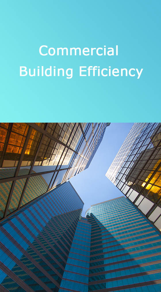 Commercial buildings efficiency