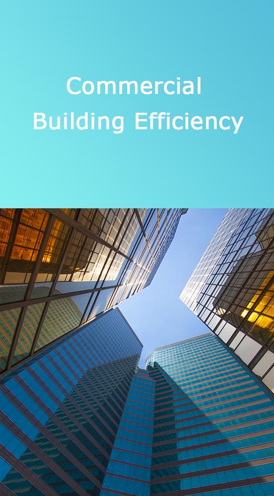Commercial buildings efficiency