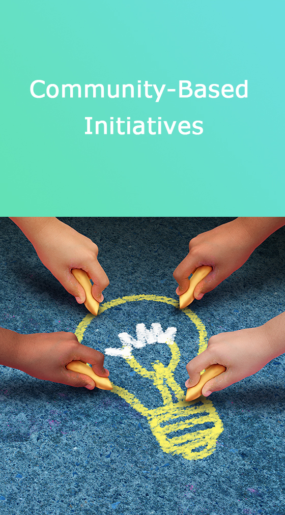 Community-based initiatives